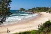 Flynns Beach Port Macquarie — Stock Photo