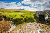 Rough Tor Bodmin Moor Cornwall — Stock Photo
