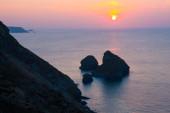 Bassetts Cove North Cliffs Cornwall — Stock Photo