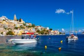 Stunning Greek Island — Stock Photo