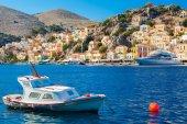 Symi Town Greece — Stock Photo