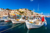 Symi Town Greece — Stock Photo