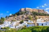 Lindos Rhodes Greece — Stock Photo