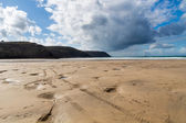 Cornwall Beach Perranporth — Foto Stock