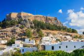 Lindos Rhodes Greece — Fotografia Stock