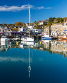 Padstown Harbour Cornwall — Stock Photo
