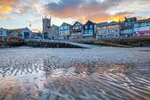 St Ives Cornwall Sunset — Stock Photo