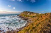Priests Cove Cape Cornwall — Stock Photo