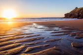 Rinsey Beach Porthcew Cornwall — Stock Photo