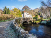 Couch's Mill Cornwall — Stock Photo