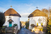 Veryan Round Houses — Stock Photo