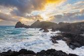 Kynance Cove Cornwall England — Stock Photo