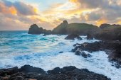 Kynance Cove Cornwall England — Stock Photo