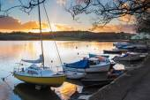 Sunset Truro Cornwall — Stock Photo