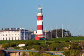 Plymouth Hoe from Mount Batten — Stock Photo