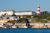 Plymouth Hoe from Mount Batten — ストック写真