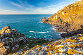 Mines at Botallack Cornwall — Fotografia Stock