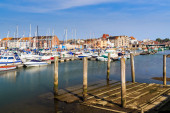 Weymouth Harbour Dorset — Stock Photo