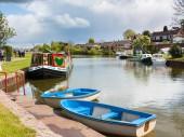 Canale di Tiverton Devon — Foto Stock