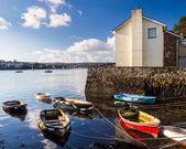 Flushing Cornwall — Stock Photo