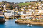 Mevagissey Harbour Cornwall England — Stock Photo