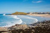 Porthmeor Beach St Ives Cornwall — Stock Photo