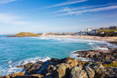 Porthmeor Beach St Ives Cornwall — Foto Stock