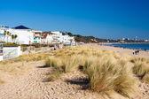 Sandbanks Beach Dorset — Stok fotoğraf