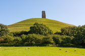 Glastonbury Tor Somerset — Foto Stock