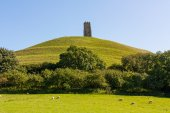 Glastonbury Tor Somerset — Photo