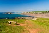 Bantham Beach Devon — Stock Photo