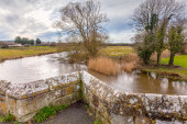 River Frome at Wool — Stock Photo