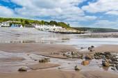 Spiaggia di Amroth Pembrokeshire Galles — Foto Stock
