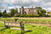Laugharne Castle Wales — Stock Photo