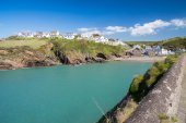 Little Haven Wales — Stock Photo