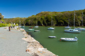 Solva wales uk — Stock fotografie