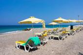 Spiaggia di Soroni Rhodes — Foto Stock