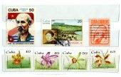 Cuban stamps — Stok fotoğraf