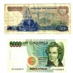 ������, ������: Old european banknotes