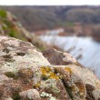 River, nature, mountain, crag, stone, moss, lichen, background, travel, granite, outdoors, view, high, land, hill, adventure, tall, rocks, cliff, terrain, landscapes, waters, rock, color, texture, closeup, yellow, natural, water, colorful, front, out — Stock Photo #73804325