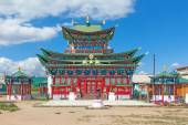 Temple of the Pure Land in Ivolginsky datsan, Buryatia, Russia. — Stock Photo