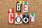 Be Cool — Stock Photo
