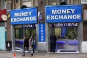 Money Exchange London — Stockfoto