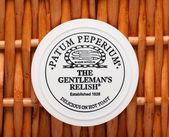 Gentleman's Relish — Stock Photo