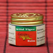 Wild Tiger Balm — Stock Photo