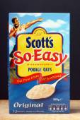 Scott's Porridge Oats — Foto de Stock