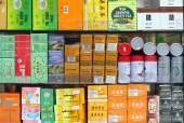 Tea Shop Window — Stock Photo