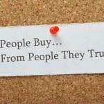 Customer Trust Concept — Stock Photo #57160527