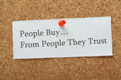 Customer Trust Concept — Stock Photo