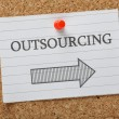 Outsourcing This Way — Stock Photo #57815325